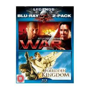 Legends: War / The Forbidden Kingdom Double Pack (2 Discs) (Blu-ray) - £7.30 Delivered @ Zavvi