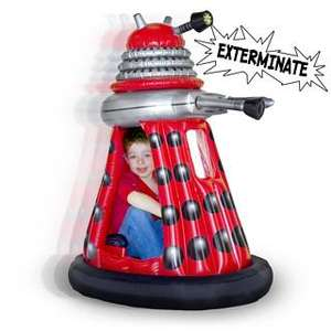 Ride in Dalek from Firebox £139.99