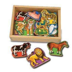 Melissa & Doug Magnetic Wooden Animals / Letters now £5.99 each del @ Amazon