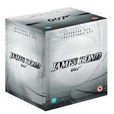 James Bond Complete Collection - DVD. Online and in store @ ASDA for £40