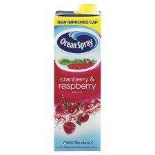 Ocean Spray Cranberry & Raspberry Juice + 50% Free (1.5L) for 49p @ Quality Save & Home Bargains