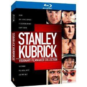 Stanley Kubrick: Visionary Filmmaker Collection [Blu-ray][Region Free] @Amazon = £21.97