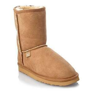 Just Sheepskin Short Boots - £56.90 delivered @ Debenhams + TCB