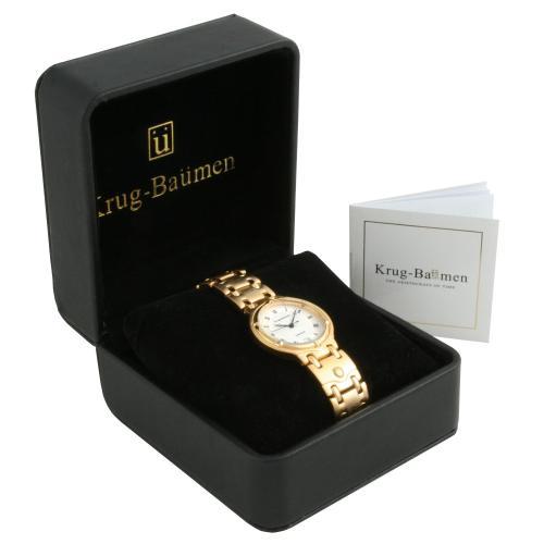 Krug Baumen Mens Charleston Gold Watch 5116KM £28.99 @ watches2u