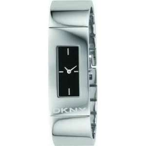DKNY Ladies Silver Watch with a Black or White Face £52 @ watchs2u