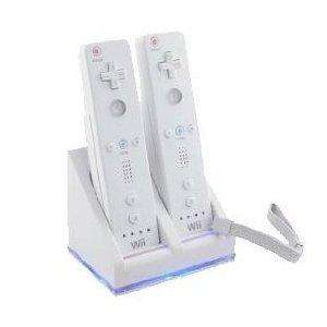 amazon free delivery Wii Dual Charger Station with 2 rechargable batteries.£5.55 @ Star e-shop / Amazon
