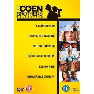 The Coen Brothers Collection [DVD] 6 movies £12.97 @ Amazon