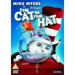The Cat In The Hat DVD @ The Hut - £2.49 free delivery