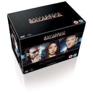 Battlestar Galactica Complete Series DVD. £45.97 with free delivery from Amazon