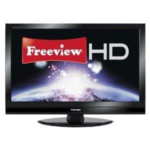 "Toshiba 37RV753B 37"" LCD TV Full HD 1080p Freeview HD Amazon Warehouse Used- good"