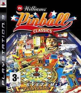 Williams Pinball Classics (PS3) £8.89 using gift code @ Game (+ Cashback)