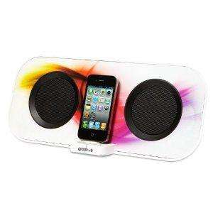Groov-e iSpeakerDock50 Designer 12W Speaker for iPhone/iPod @ £47.99 - amazon.co.uk