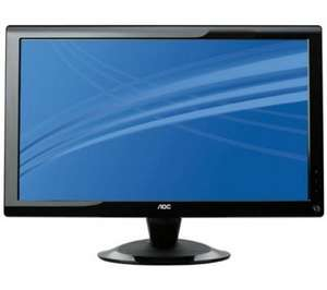 "AOC 2436Swa 23.6"" LCD Monitor 100 hour price crash Web exclusive price  £139.99  £99.99  Save a total of £40.00 @currys"