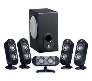 LOGITECH X-530 5.1 Speaker System £39.49 back on at Currys