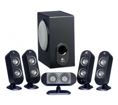 LOGITECH X-530 5.1 Speaker System £39.49 back on at Currys