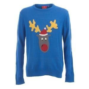 Reggie Reindeer Christmas / Xmas Jumper £19.99 inc del @ Play + 6% Quidco