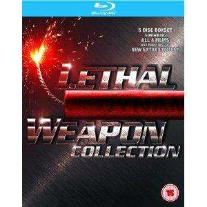 Lethal Weapon 1-4 Blu Ray Collection - £16.97 @ Amazon UK