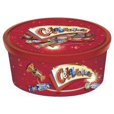 Celebrations Chocolates 855G tub. £4 @ Tesco's using instore voucher.