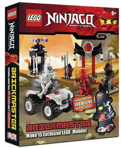 LEGO Brickmaster Ninjago (140 bricks and two minifigures/15 different models) / LEGO Brickmaster City (130 bricks and two minifigures/ 9 different models) £8.54 delivered @ Red House