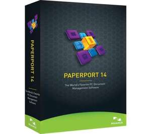 Nuance PaperPort 14 - time limited discount at Currys