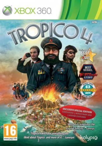 Tropico 4 (special edition) Xbox360 £14.99 @ Zavvi