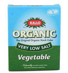 Kallo Organic Stock Cubes 2 for £1.50 @ Morrisons