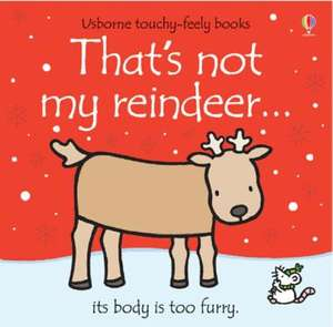 That's Not My Reindeer Book - £2.99 + quidco + free del.@ Choices