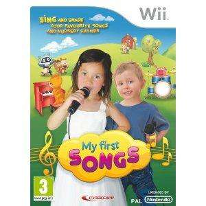 My first songs inc mic (Wii) - £10 @ HMV (Instore)