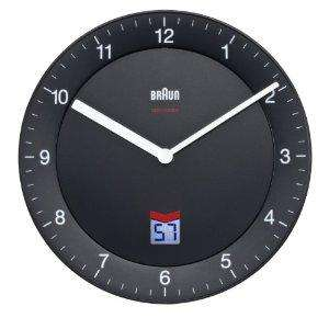 Braun UK Signal Radio Controlled Wall Clock, Black. Amazon £26.79 Free delivery .