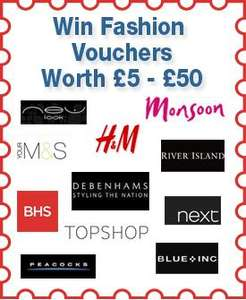 "Free voucher for use in participating Fashion stores at ""The Mall"""