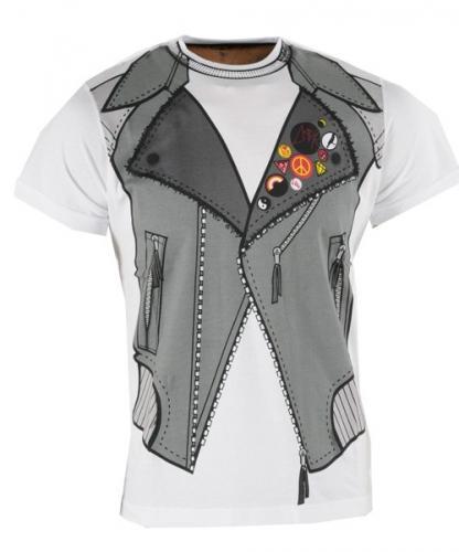 Brave Soul Rug Gedom T-Shirt (White) - £9.69 Delivered @ Yukka