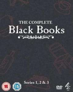 Black Books - Series 1-3 DVD £7.95 delivered @ The Hut