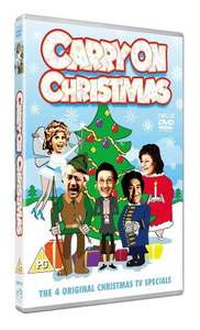 Carry On Christmas DVD £3.89 at Zavvi (All 4 Festive Specials)