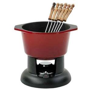 Chasseur Cast Iron Fondue Set Chilli Red was £68 now £30.52 Amazon free delivery