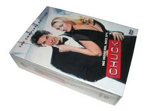 Chuck - Series 1-4 DVD boxset only £24.97 at Amazon