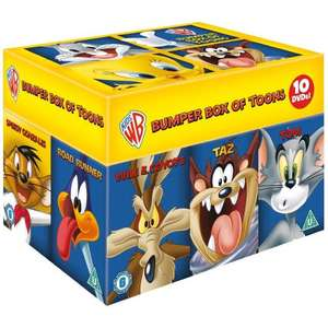 Looney Tunes (Warner Bros) Big Faces Box Set [10 DVD Boxset] £16.99 delivered @ Bee