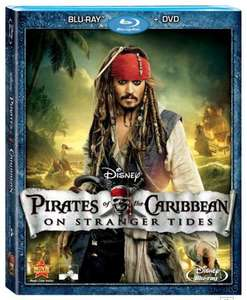 Pirates Of The Caribbean 4: On Stranger Tides Blu-ray - £4.50 online at Best Buy