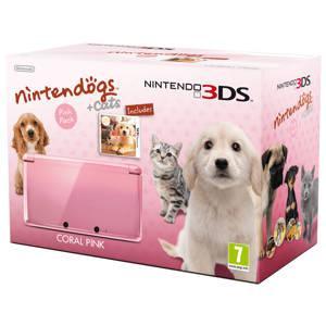 Pink Nintendo 3DS with Nintendogs - £143.99 - Best Buy
