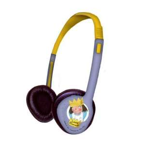 Little Princess Kids Headphones For iPod/ MP3/ CD And DVD Players now £5 delivered @ play