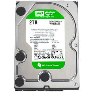"Western Digital 2TB 3.5"" Hard Drive £82.49 @ Best Buy"