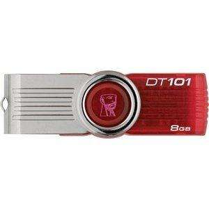 Kingston DataTraveler 101 Gen 2 8GB USB Drive - Red £5.19 @ Amazon Sold by IJT Direct
