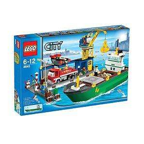 LEGO City Harbour 4645 only £43.49! ASDA online or instore.