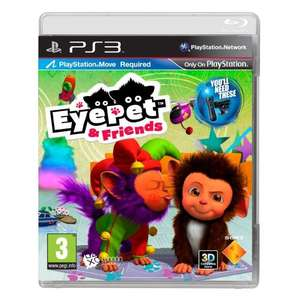 eyepet and friends ps3 from amazon £7.97 delivered