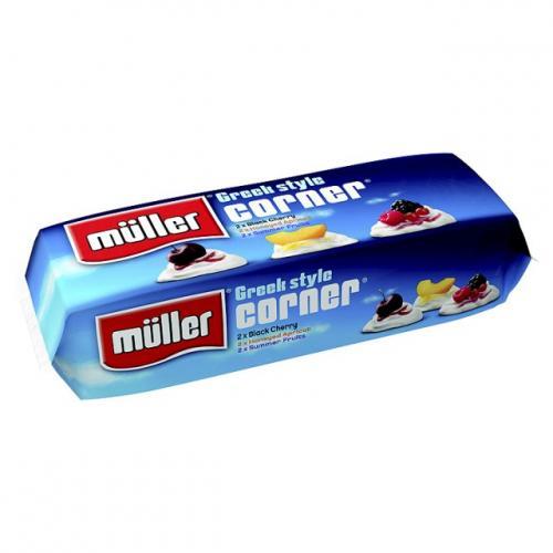 Muller corner 25p when you buy 12 (BOGOF 12 for 6) @ Morrisons