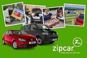 One Year Zipcar Membership and £20 Driving Credit for £29.75 (street car is now zip car)