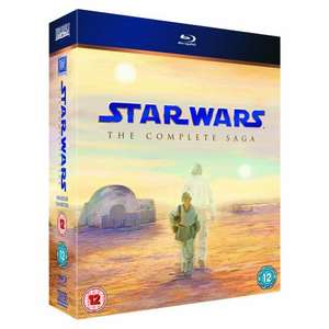 Star Wars: The Complete Saga (Episodes I-VI) [Blu-ray]  £50.97 @ Amazon
