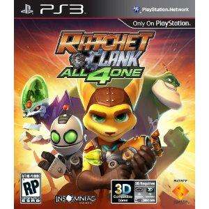 Ratchet and Clank All for one PS3 £17.99 AMAZON Price matched