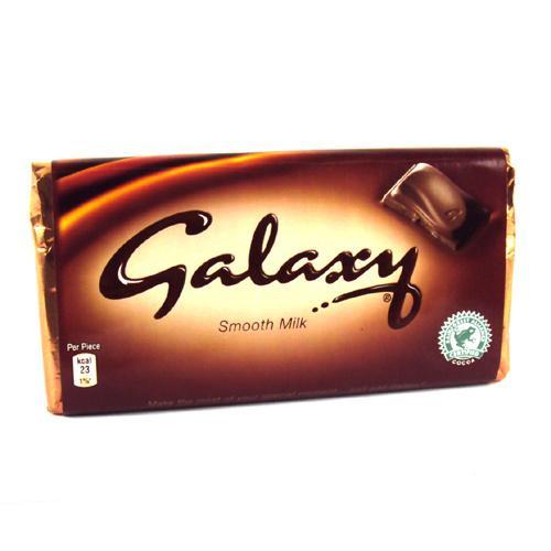 Galaxy 125g - 93p - Tesco