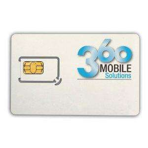 12 month prepay sim. 100 mins, 300 text 500mb for £78 @ Amazon = £6.50p/m