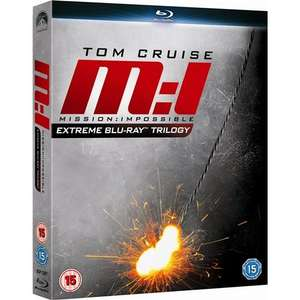 Mission Impossible Ultimate Trilogy Box Set (3 Discs) (Blu-ray) - £16 Delivered @ Tesco Ent